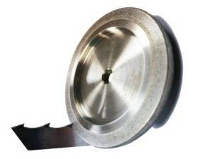 Эльборовый (боразоновый) круг для заточки ленточных пил